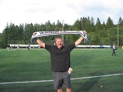 Mons Ivar Mjelde. VHFK trenar i 2011